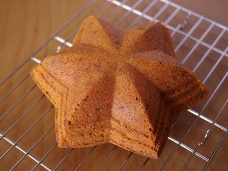 シンプル簡単に香り高いマロンケーキ08