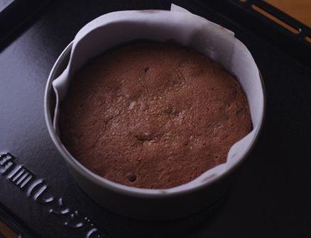 バレンタインの星空ケーキぎっしりチョコチップ06
