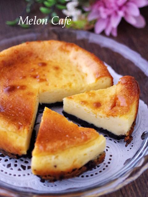 HMで酸味の少ない手軽なチーズケーキ00