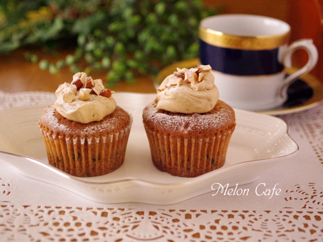 HMで簡単カフェモカカップケーキa