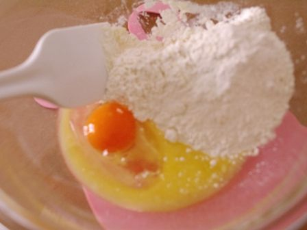 ホットケーキミックスでつくる、何が出るかなころころドーナツ01