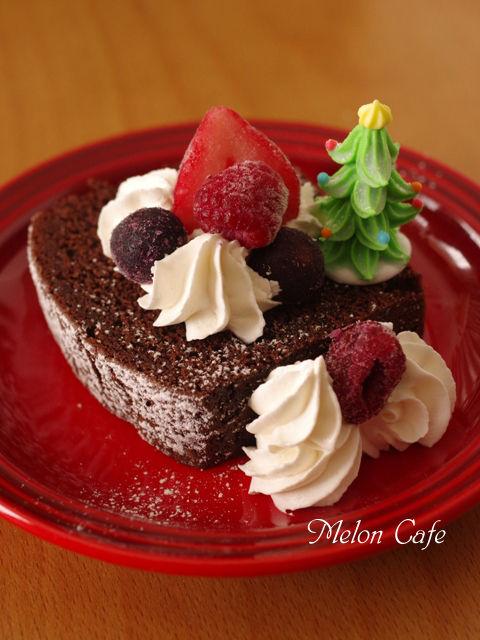 ホットケーキミックスで作る超簡単でおいしいクリスマスのチョコレートケーキ02