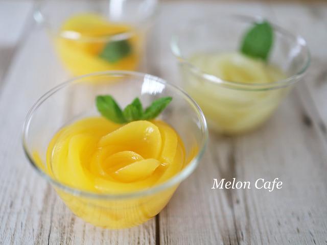 簡単花咲くフルーツゼリー01 - コピー