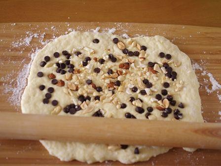 ホットケーキミックスで簡単手軽ナッツチョコのプチパン03