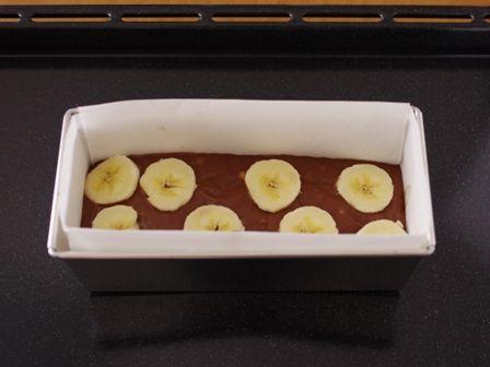 ホットケーキミックスでつくるチョコバナナパウンドのケーキ04
