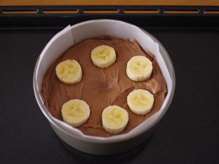 チョコバナナのドットケーキ04