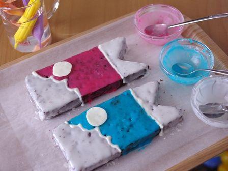 簡単こいのぼりのこどもの日ケーキ07