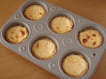 ホットケーキミックスで簡単チーズカスタードタルト03