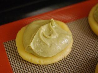 抹茶と黒豆のクリームチーズタルト02