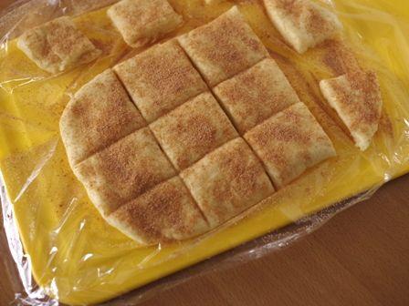 ホットケーキミックスでつくるサクサク簡単スコーンシナモンシュガー味02