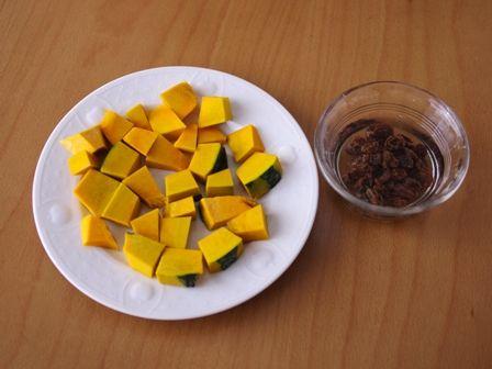 カボチャのクリームチーズサラダ01