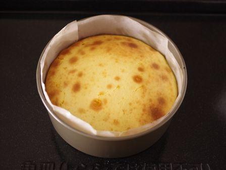 ホットケーキミックスと牛乳で簡単チーズケーキ03