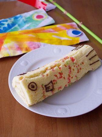 こいのぼりケーキ
