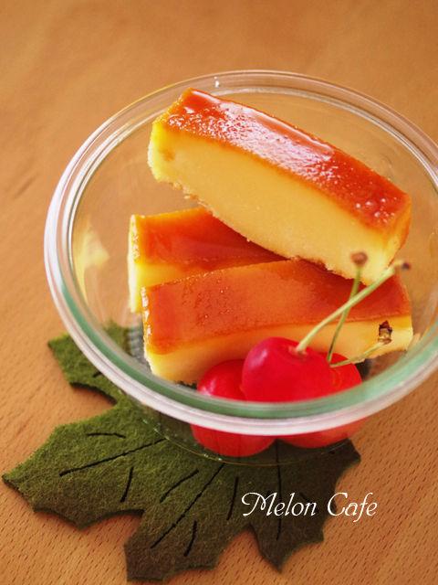 レモングラスとホットケーキミックスで作るカノムモーケン風ココナッツプリンケーキ