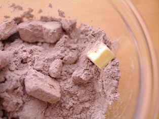 クルミのチョコレートブラウニー05