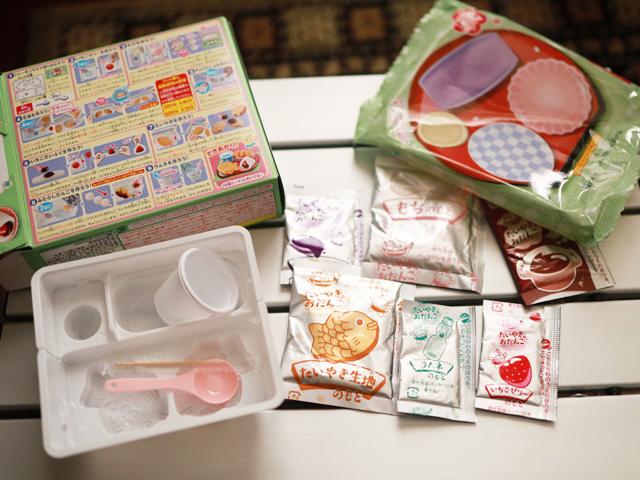 市販菓子大人が作ってみました_たいやき&おだんご_04