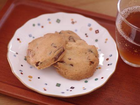 チョコとクルミのクッキー