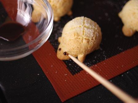 ホットケーキミックスとパパンでつくるカメロンパンのミニクッキー02