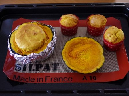 ホットケーキミックスでつくる簡単まるごとかぼちゃのもこもこケーキ03