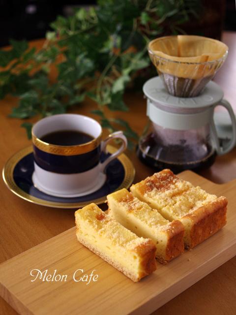 コーヒーによくあう簡単味わいチーズケーキ