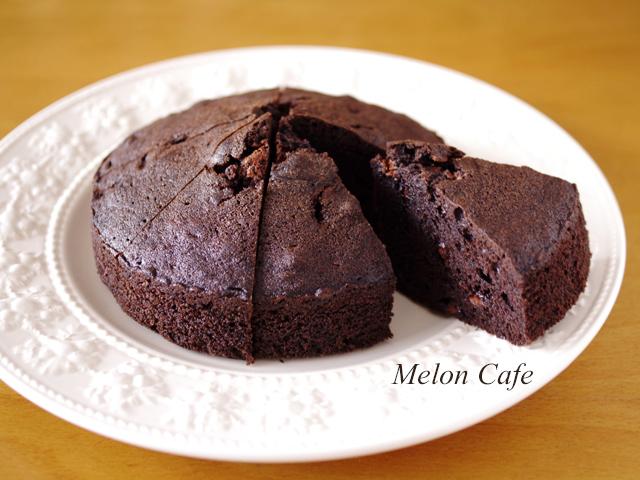 超簡単チョコレートケーキ父の日に00