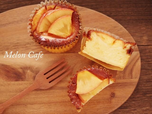 簡単りんごのバスクチーズケーキ01