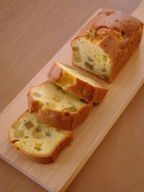 安納芋のパウンドケーキ