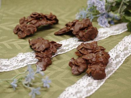 チョコレートチュイール
