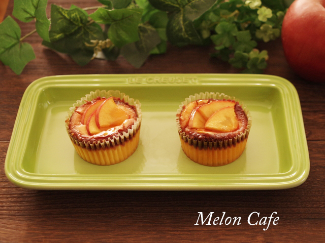 簡単りんごのバスクチーズケーキ02