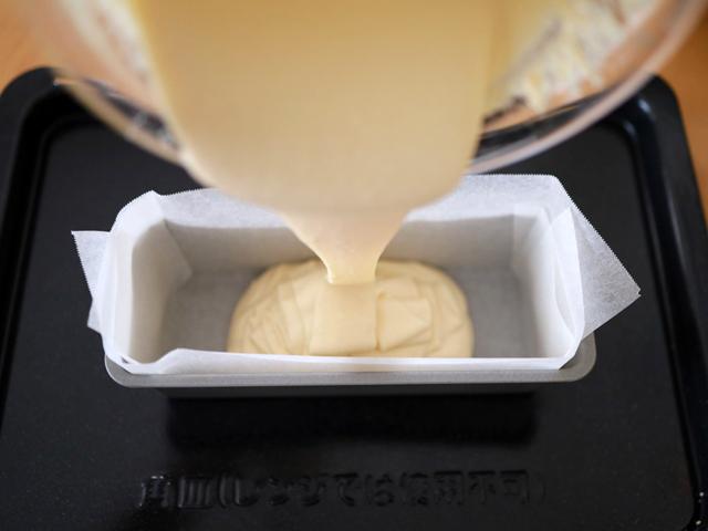HMの簡単カラメルチーズケーキ06