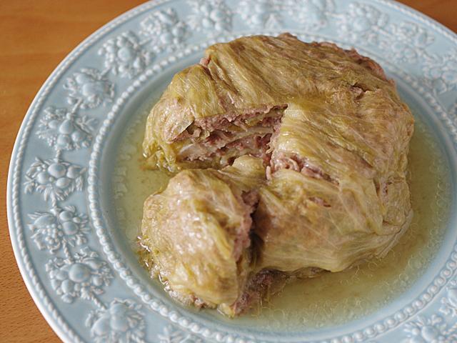 レタスとひき肉のごちそうミルフィーユ00