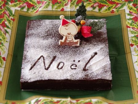 ガナッシュのノエルケーキ