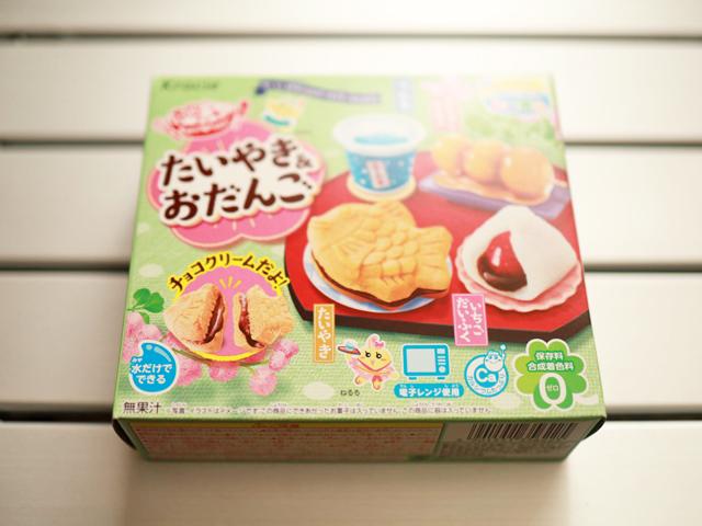 市販菓子大人が作ってみました_たいやき&おだんご_01