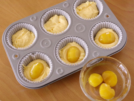 栗の甘露煮まるごと簡単はちみつカップケーキ02