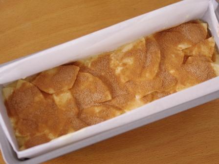 ホットケーキミックスとりんごとシナモンでガトーインビジブル14