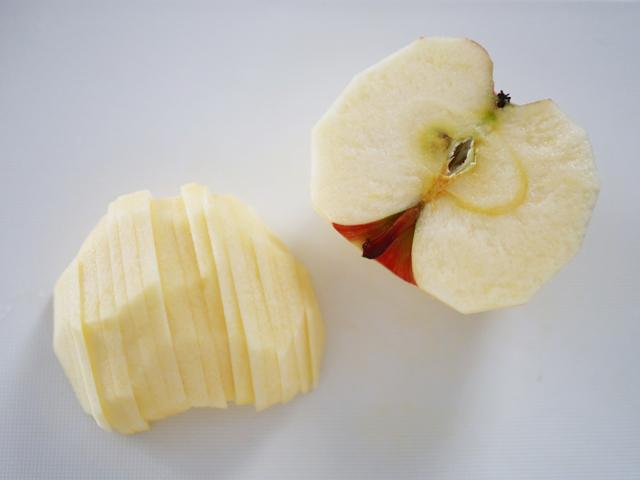 りんごカラメルのパンプディング04