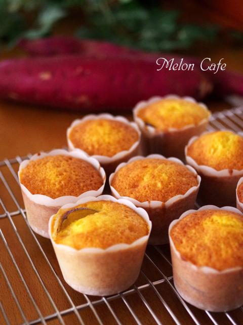 ホットケーキミックスで簡単スイートポテトカップケーキ
