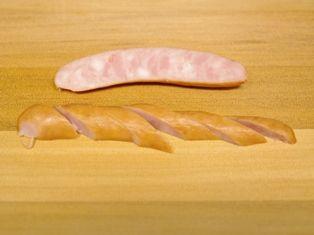 燻製風味のたまごトースト、ホットりんごシナモン01