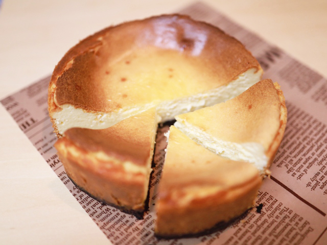 HMで簡単濃厚チーズケーキ10