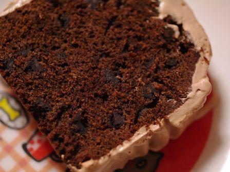 パウンドケーキで簡単ブッシュドノエル11