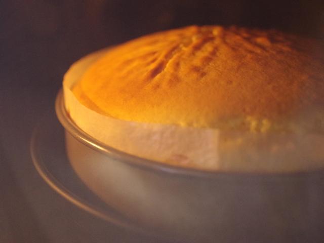 簡単シンプルなスフレチーズケーキ08