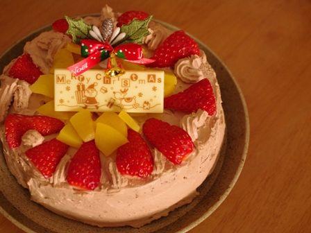 お兄ちゃん作クリスマスケーキ2012
