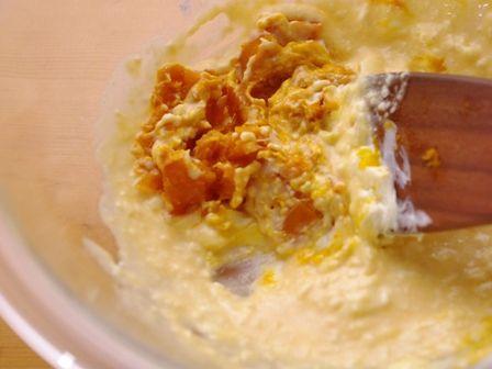 ハロウィンかぼちゃのまるごとクリームチーズケーキ07