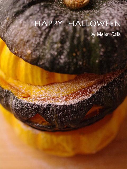 ハロウィンかぼちゃのまるごとクリームチーズケーキ01a