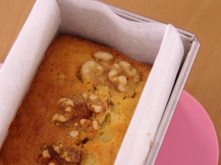 くるみたっぷり蜂蜜パウンドケーキ08
