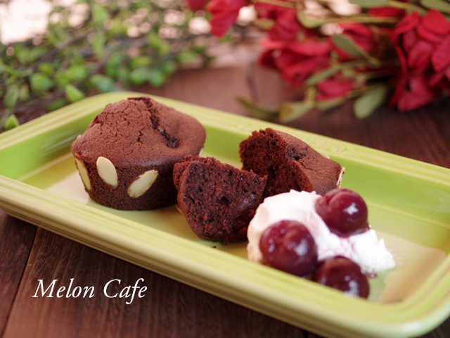 ホットケーキミックスで簡単ココアカップケーキ2種09