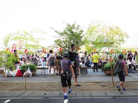 地元夏祭りの光景10