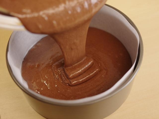 ホットケーキミックスで簡単ガトーショコラ07