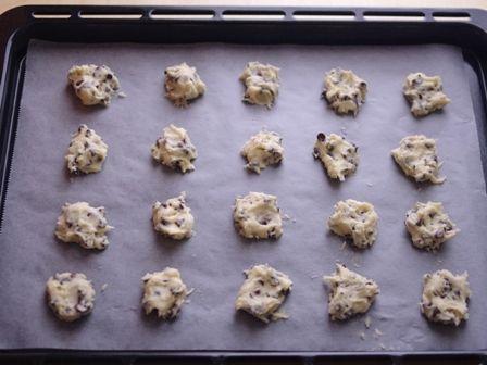 ホットケーキミックスで作る超簡単チョコチップクッキー02