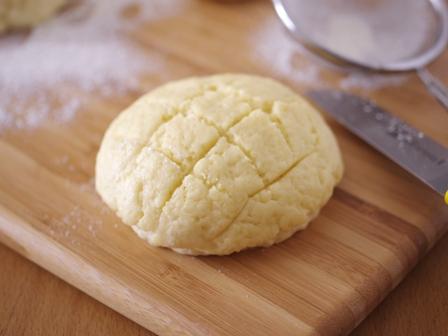 ホットケーキミックスで簡単お手軽メロンパン05